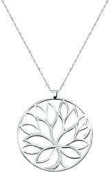 Dámský náhrdelník s krystaly Strom života Loto SATD03 (řetízek, přívěsek)