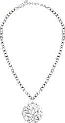 Dámský náhrdelník s krystaly Strom života Loto SATD04
