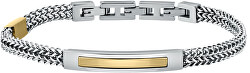 Luxusní pánský náramek z oceli Catene SATX08