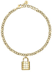 Luxusní pozlacený náramek z oceli Abbraccio SAUB17