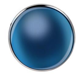 Modrý přívěsek Sensazioni SAJT44
