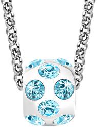 Oceľový náhrdelník Drops Jewel SCZ668 (retiazka, prívesok)