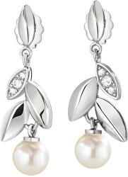 Náušnice s perlou Gioia SAER23