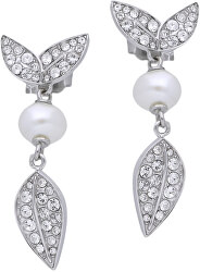 Ocelové náušnice s perlou Natura SAHL10