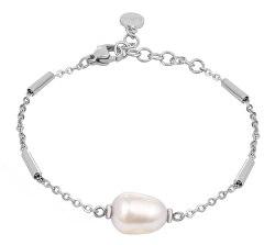 Ocelový náramek s pravou perlou Oriente SARI14