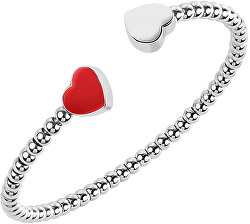 Brățară din oțel cu inimile Enjoy SAJE22