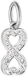 Oceľový prívesok Drops Infinity Love SCZ912
