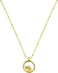 Pozlacený náhrdelník s elementem Scrigno D`Amore SAMB35 (řetízek, přívěsek)