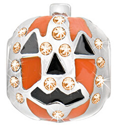 Oceľový prívesok Drops Halloween Pumpkin SCZ123