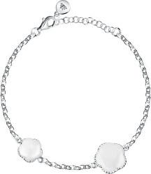 Romantický stříbrný náramek Natura SATO09