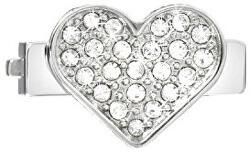 Srdíčko s čirými krystaly na náramky Sensazioni SAJT07