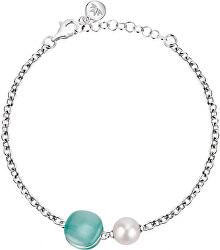 Strieborný náramok s perlou Gemma Perla SATC10