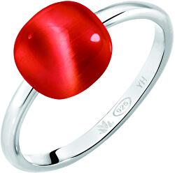 Stříbrný prsten Gemma SAKK112