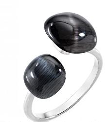 Štýlový prsteň zdobený mačacím okom Gemma SAKK33