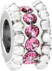 Oceľový prívesok Drops Delicate Pink SCZ546