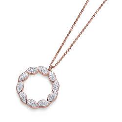 Bronzový oceľový náhrdelník Pleach 11913RG
