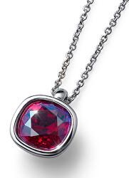Stylový náhrdelník Royal 11802 RED