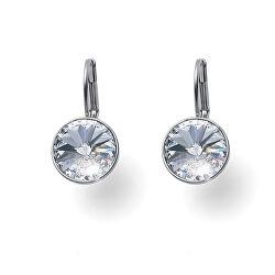 Elegantní dámské náušnice s čirými krystaly Swarovski Lucky 22840 001