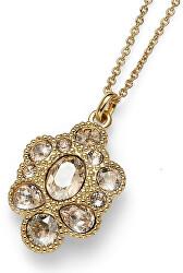 Elegantní náhrdelník s krystaly Keen 11814G