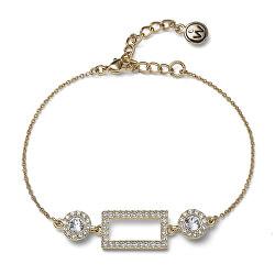 Elegantní pozlacený náramek s krystaly Swarovski Picture 32283G