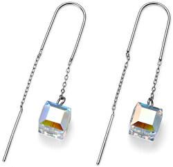 Fashion náušnice Shopping Cube 22606R