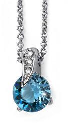Jemný náhrdelník s krystaly Swarovski Joice 12023 202