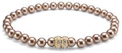 Luxusní náhrdelník z perel Swarovski Lucent 11619 BEI