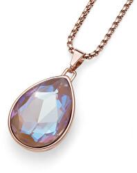 Náhrdelník s krystalem Delite Large 11911RG 133