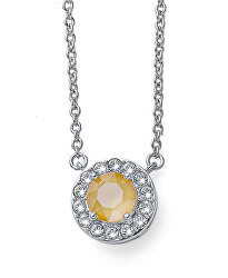 Náhrdelník s krystalem Loco 12087R 124