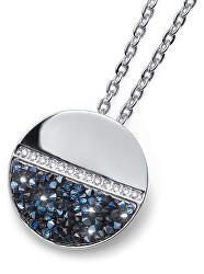 Náhrdelník s krystaly Split 11990 BLU