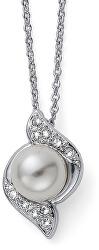 Náhrdelník s perličkou Bun 12025