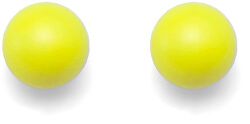 Zářivě žluté náušnice Combi Neon Yellow 21025 YEL