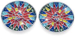 Náušnice s krystaly Shine Gaudi 22806