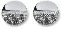 Náušnice s krystaly Split 22814 CAL
