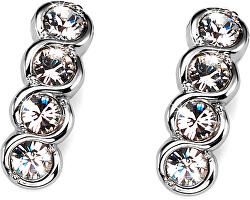 Náušnice s krystaly Swarovski Four Crystal 9938-001