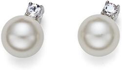 Náušnice s perličkami Working Just 22604R