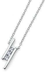 Originální náhrdelník s krystaly Foursquare 61135