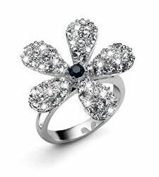 Eredeti gyűrű kristállyal Bloom 41055