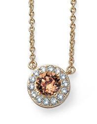 Pozlacený náhrdelník s krystalem Loco 12087G 221