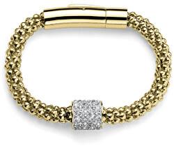 Pozlacený třpytivý náramek s ozdobou s krystaly Swarovski Closer 32286G