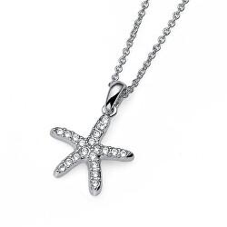 Náhrdelník s kryštálmi Starfish 11897