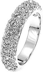 Třpytivý prsten s krystaly Swarovski Classic 41006R