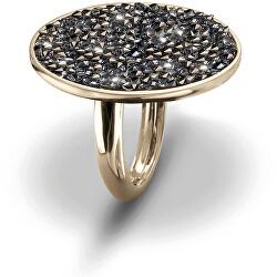Prsten se sypanými krystaly Extase 41145G