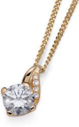 Strieborný náhrdelník Succes 61139G (retiazka, prívesok)