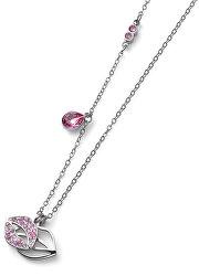 Stylový náhrdelník s krystaly Swarovski Kiss Rose 12151