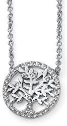Třpytivý náhrdelník se stromem života Flow 12049