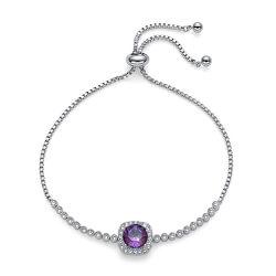 Csillogó karkötő Precioso 32253R 132 kristálytal