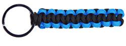 Paracord přívěsek Modrá-Černá