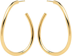 Originální pozlacené náušnice kruhy YOKO Gold AR01-087-U