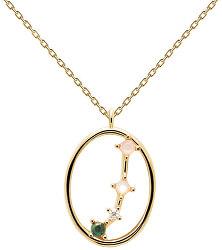 Originální pozlacený náhrdelník Beran ARIES CO01-344-U (řetízek, přívěsek)